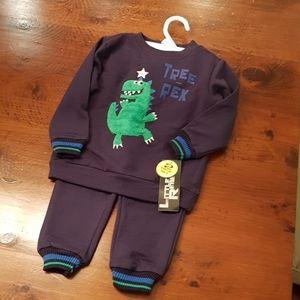 Dino track suit 2T